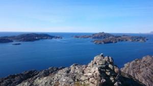 Utsikt frå Hammerstakken. Foto: Randi Storøy