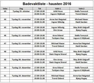 badevaktliste-hausten-2016