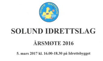 Protokoll årsmøte 2016